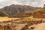 Chincheros ruins Cuzco Peru