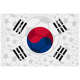 South Korea soccer balls