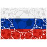 Russia soccer balls
