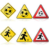 Soccer signs