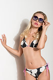 summer sensual blonde female
