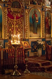 Interior Of Belarusian Orthodox Church.