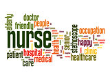 Nurse word cloud