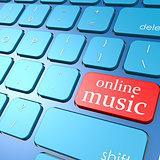 Online music keyboard