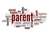 Parent word cloud