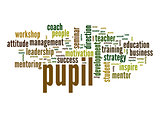 Pupil word cloud