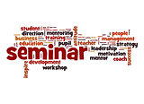 Seminar word cloud