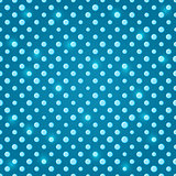 Green Blue Polka Dot Seamless Pattern