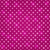 Pink Polka Dot Seamless Pattern