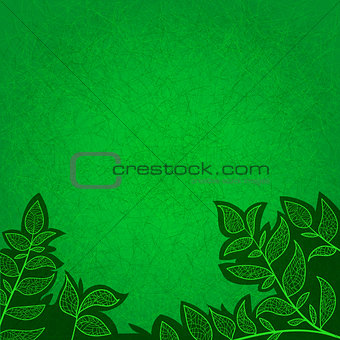 ecology abstract background for invitations