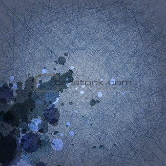 abstract grunge dark blue background