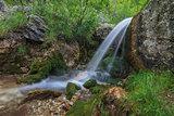 stream in Gorge Tasnei. Baile Herculane, Romania