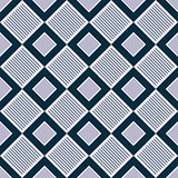 Square Contrast Color Floor Seamless Pattern