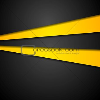 Abstract contrast bright vector design