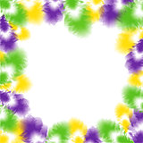 Feather background for Fat Tuesday