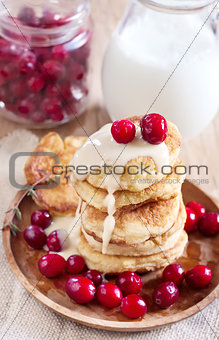 Russian quark pancakes