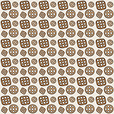 Seamless pattern. Cookies. Vector.