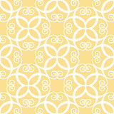 Seamless yellow pattern
