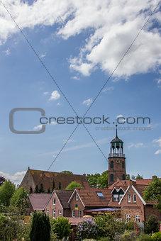 Church of the village of Ditzum
