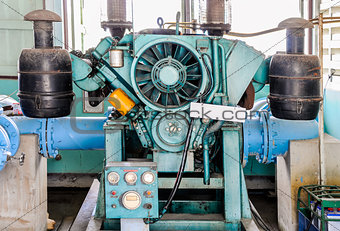 Old master pump