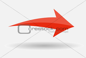 Arrow Icon Sign. Vector Illustration.