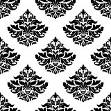 Royal damask seamless pattern