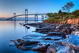 Newport Bridge Sunrise