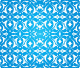 blue ottoman decorative background version