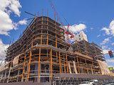 New building construction site
