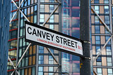 Canvey Street street sign