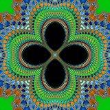 Decorative fractal flower