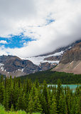 Storm clouds over Glacier