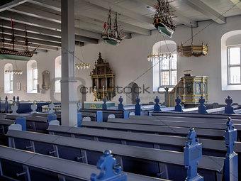 Church in Nordby, Fanoe, Esbjerg, Denmark