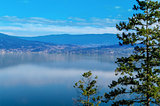 Okanagan Lake and Surrounding hills