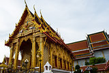 The Thai Buddha temple