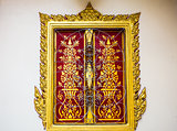 Art of windows in thai temple