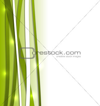 Abstract backdrop with colorful lines