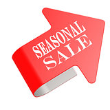 Seasonal sale twist label