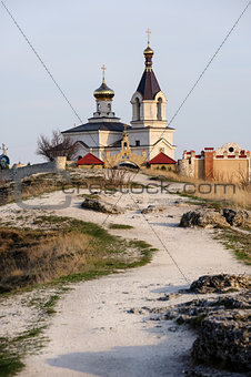 Church in Old Orhei, Moldova