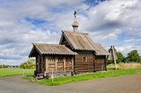 Small wooden church at Kizhi