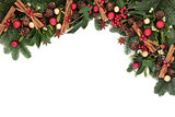 Festive Christmas Border