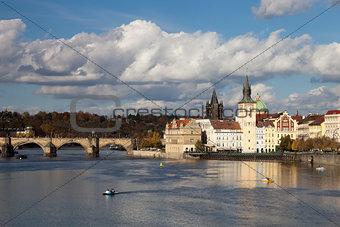 Prague, Czech Republic, Novotny Lavka at Old City