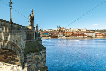 Prague, Charles Bridge, capital city of Czech Republic