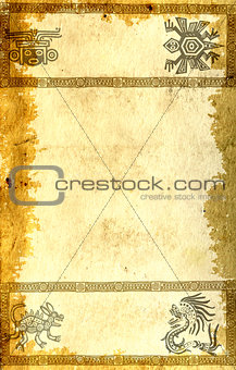 Background with American Indian traditional patterns