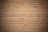 Wall made from bricks.