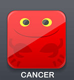 Cancer zodiac icon