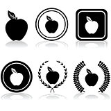 Apple emblems