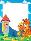 Fairy tale theme frame 5
