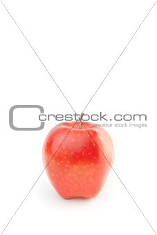 alternative medical care with red apple
