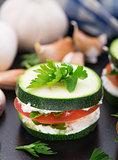 Zucchini sandwich